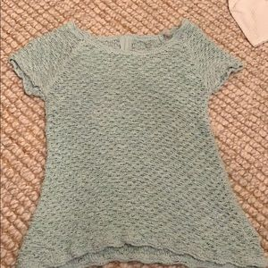 Anthropologie Knitted and Knotted top.